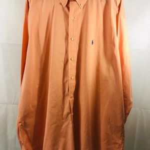 Polo Ralph Lauren  Orange Sleeve Shirt Size XL